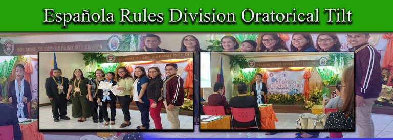 division oratorical