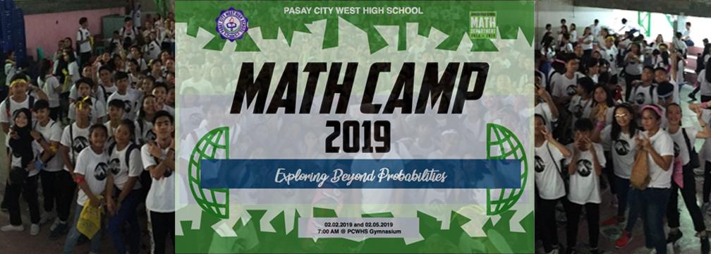 Math Camp Banner
